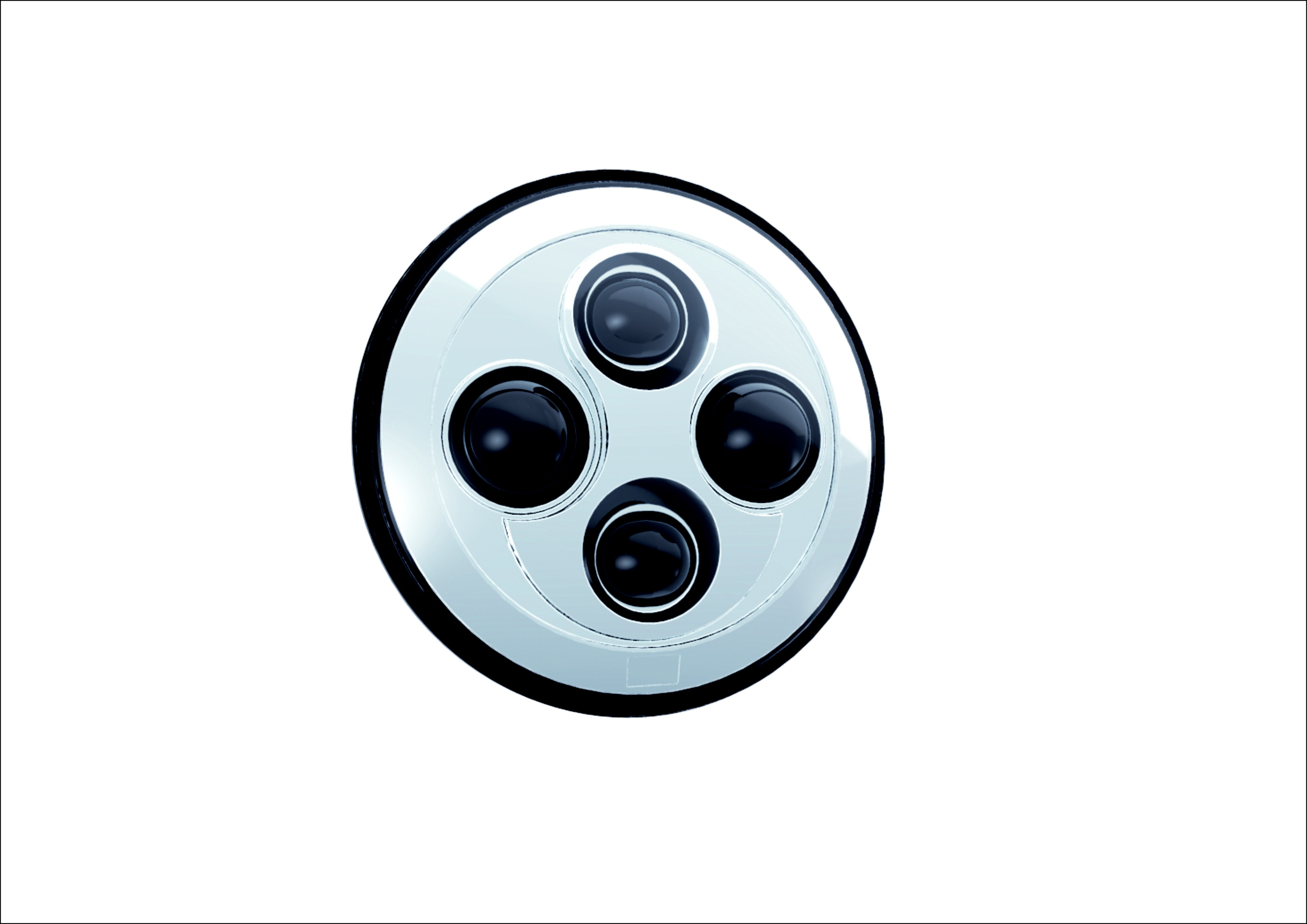 7 圆形LED前大灯